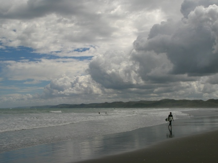 Surf's up and life's a beach - Otago Daily Times, November 2011