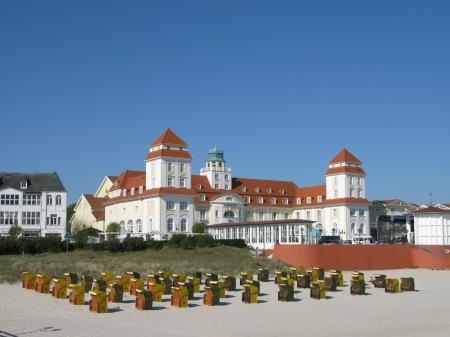 Strandkorbs on Binz, Rügen, Germany