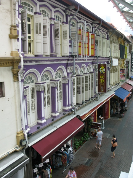 Colourful Buildings, Chinatown