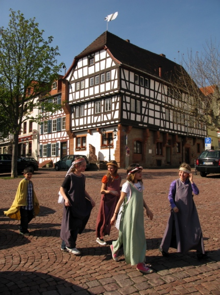 Costumed tour, Gelnhausen