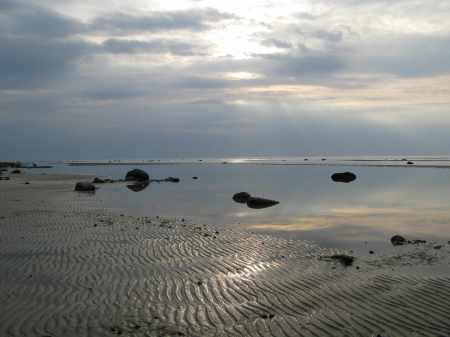 Beach on island of Poel